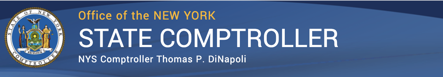 NEWS from the Office of the NYS Comptroller